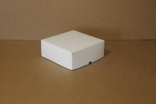 Коробка из белого картона на 4 капкейка