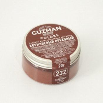 Краситель жирорастворимый коричневый ореховый, 20 гр, Guzman