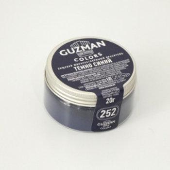 Краситель жирорастворимый темно-синий, 20 гр, Guzman