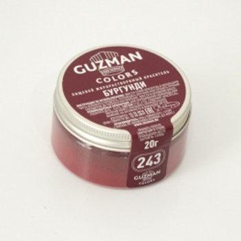 Краситель жирорастворимый бургунди, 20 гр, Guzman