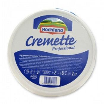 Сыр творожный Cremette, 2 кг.