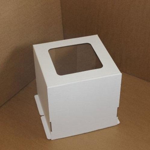 Коробка для торта с окном 300x300x300