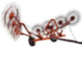 Грабли-ворошилка валкообразователь ГВВ-6