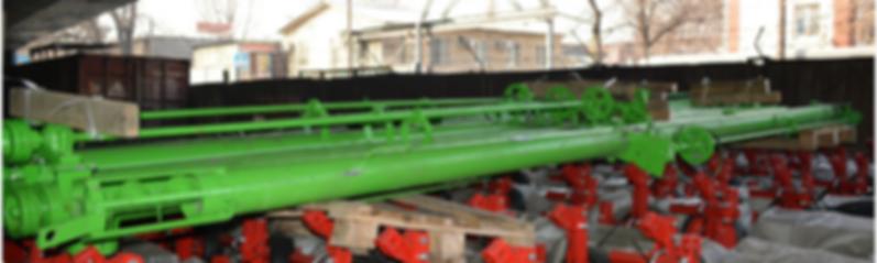 Транспортёр шнековый 8 метров (привод от