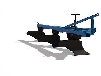 Трехкорпусной плуг ПЛН 3-35 с предплужником