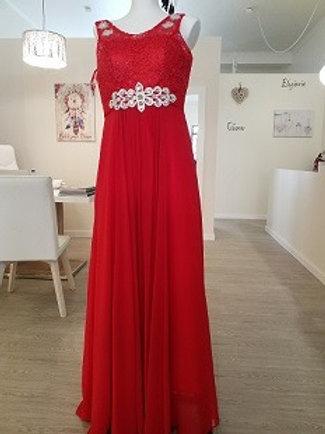 Vestido de festa Vermelho paixão