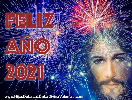 Happy New Year! Feliz Año 2021