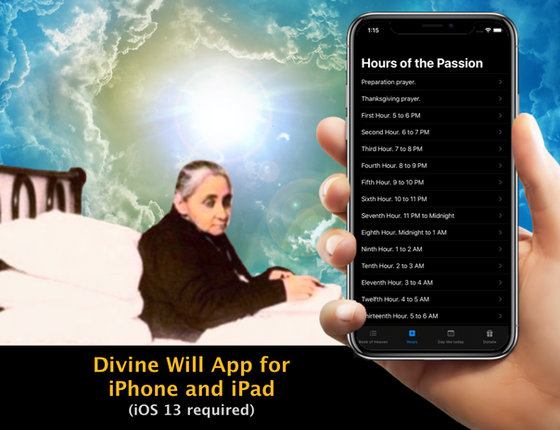 Divine Will App for iPhone