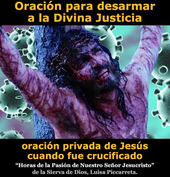 Oración para desarmar a la Divina Justicia