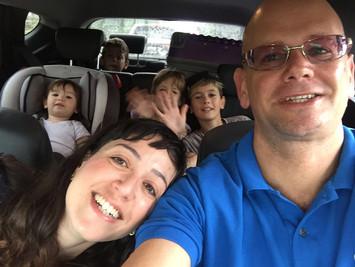 איטליה עם הילדים.... או מי נוסע עם ארבעה ילדים...