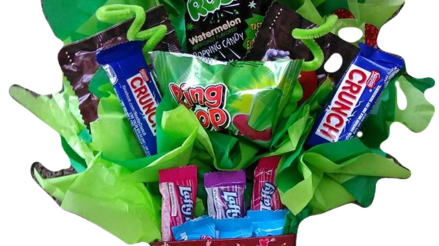 Minature Candy Bouquets
