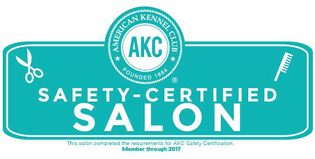 AKC Safety Certified Salon Logo