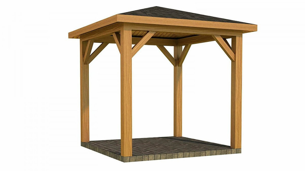 Carragh Carport by Timber Living  that comes in different sizes which is made from quality wood