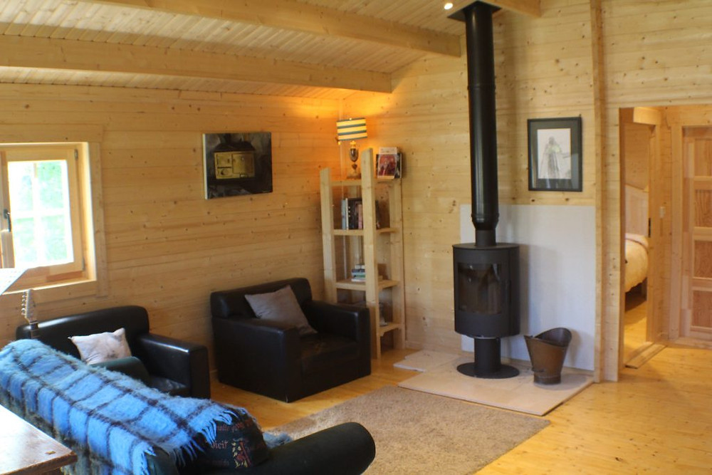Timber Living Log Cabin Showhouse in Boyle