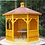 Westport Wooden Gazebo by Timber Living  that is perfect for the background to chill and relax