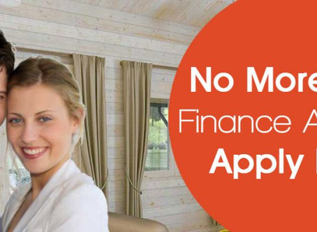 Log Cabin Finance available on our log cabins