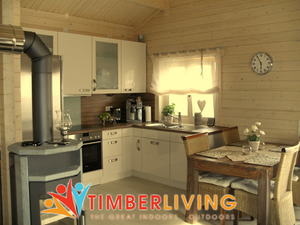 Timber Living Energy Efficient Log Cabins