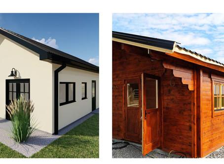 Log cabin or Timber Frame?