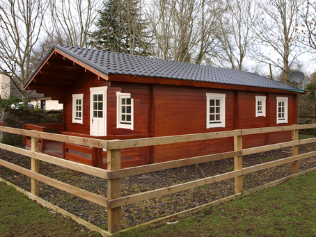 How long do residential log cabins last?