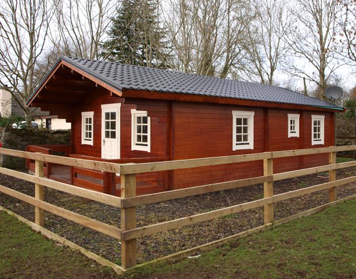 Log Cabin Durability