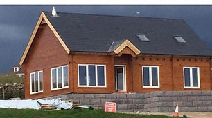 DURROW LOG CABIN SIZE 11.9M X 8M FOUR BEDROOM TWO BATHROOM
