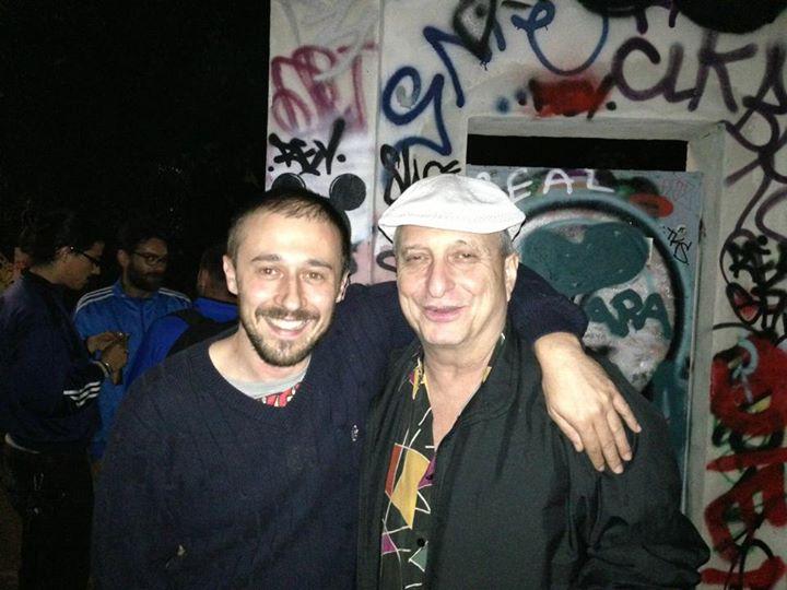 Dopo anni che non lo vedevo , il grande , immenso, George Garzone a Roma