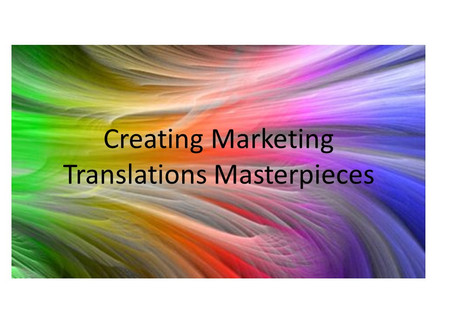 How to Create a Marketing Translations Masterpieces