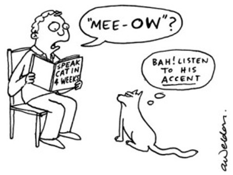 Why most of us just can't shake a foreign accent