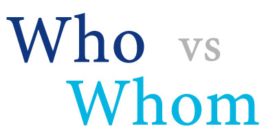 """Whom"" Do You Love?"