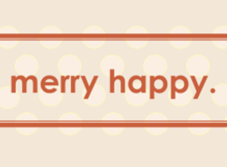 Is a Merry or Happy Christmas the same thing?