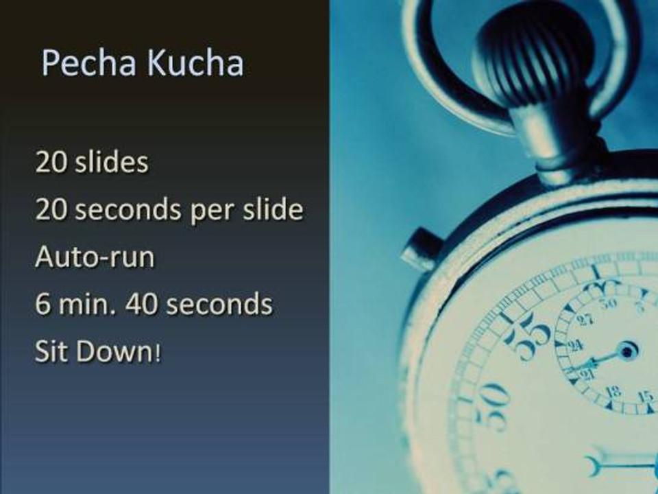 pecha-kucha