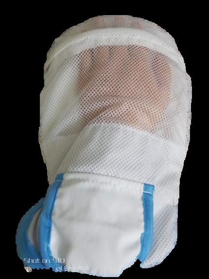 活動式安全拉鍊手套