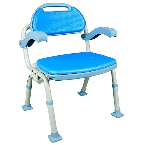 洗澡椅(可折疊型、帶靠背、帶扶手)