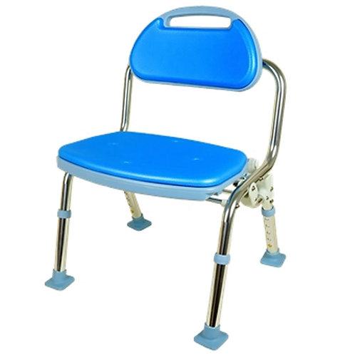 洗澡椅(可折疊型、 帶靠背)