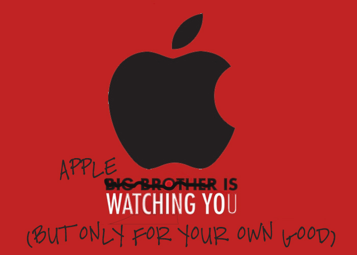 Apple is watching you