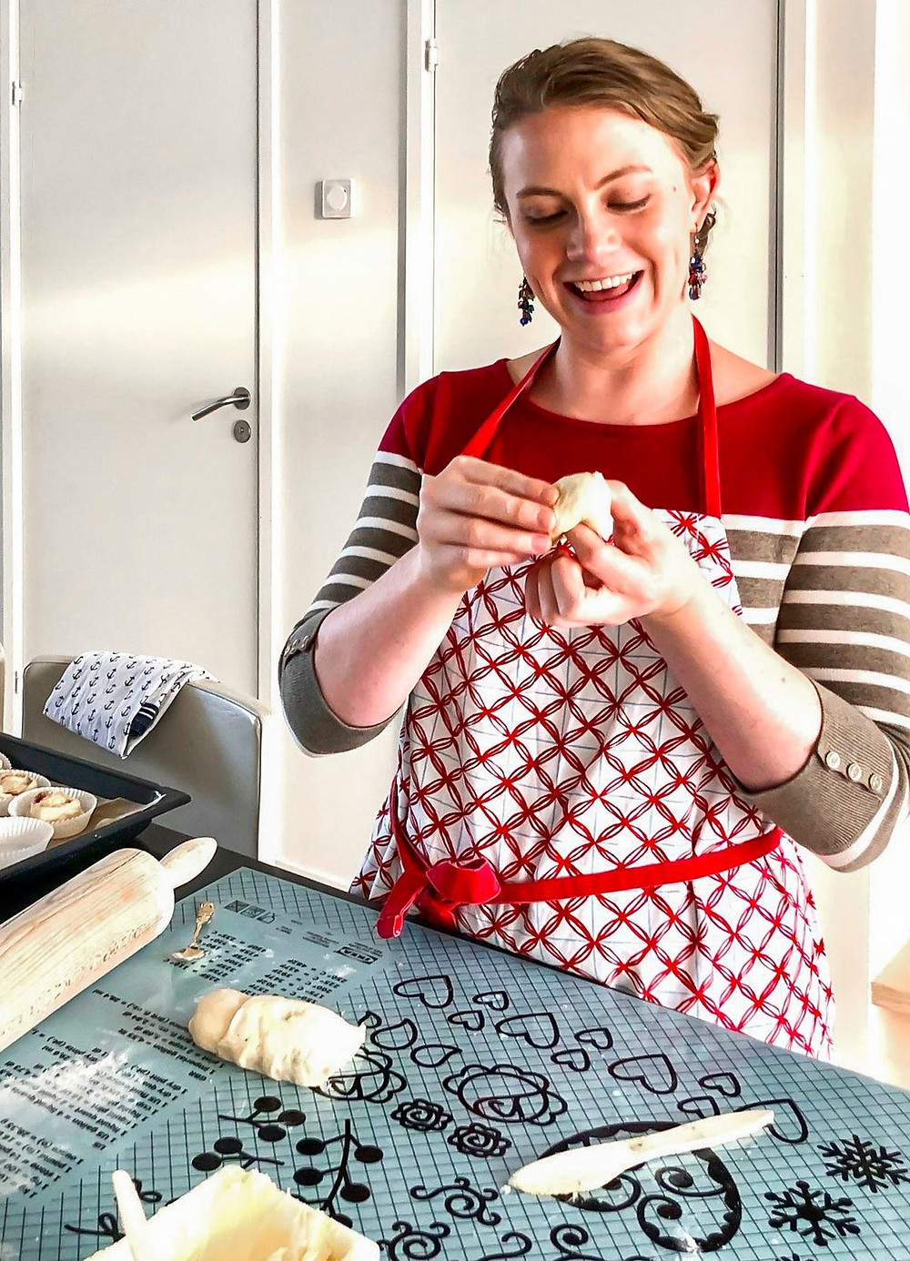 Make Swedish Pastries with a Pro Baker online experience from Airbnb