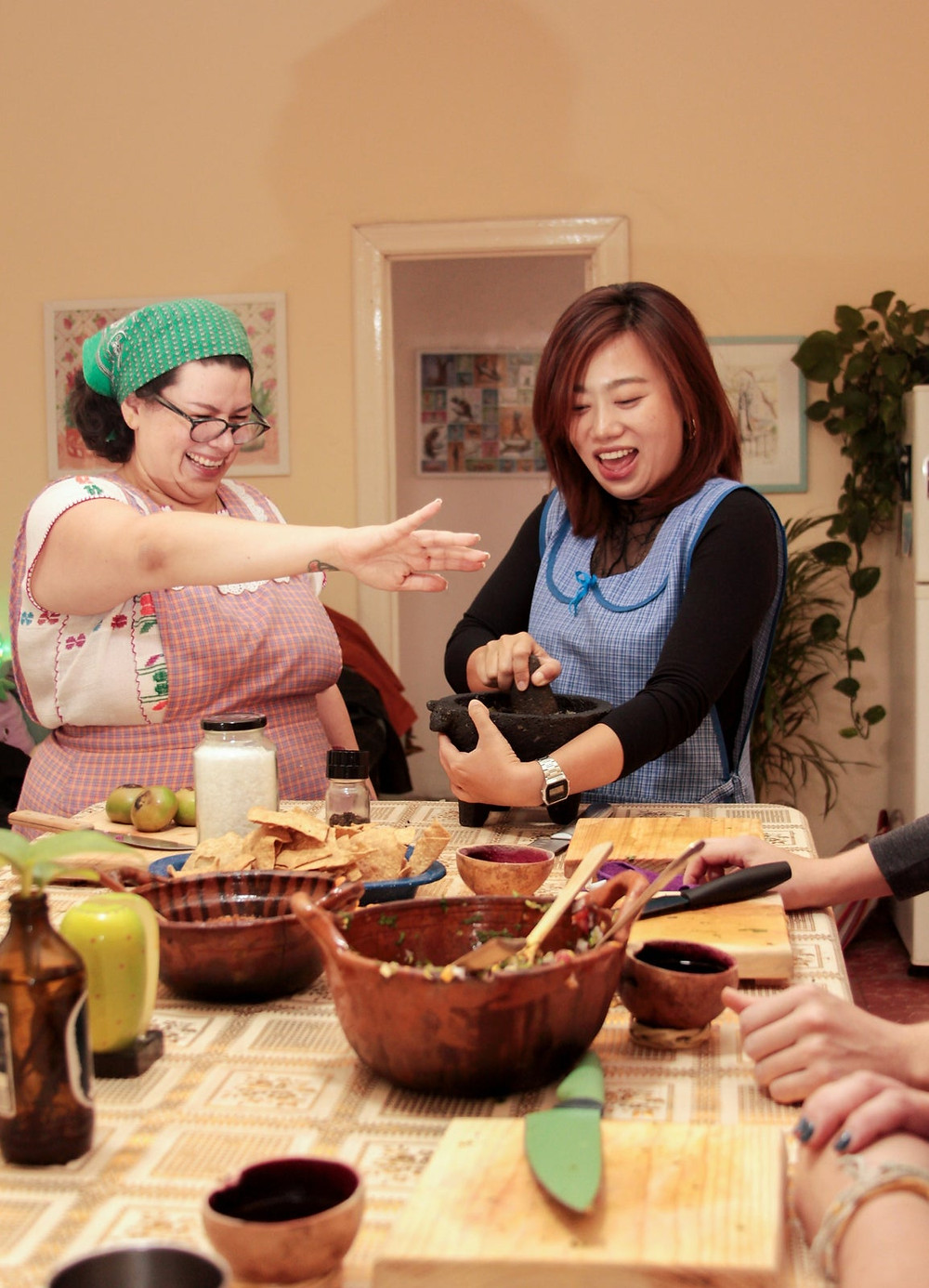 Learn to Cook Mexican Salsas online experience from Airbnb