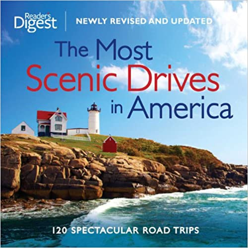 The Most Scenic Drives in America book cover from Amazon