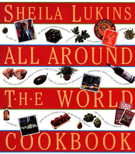 Sheila Lukins All Around the World Cookbook book cover from Amazon