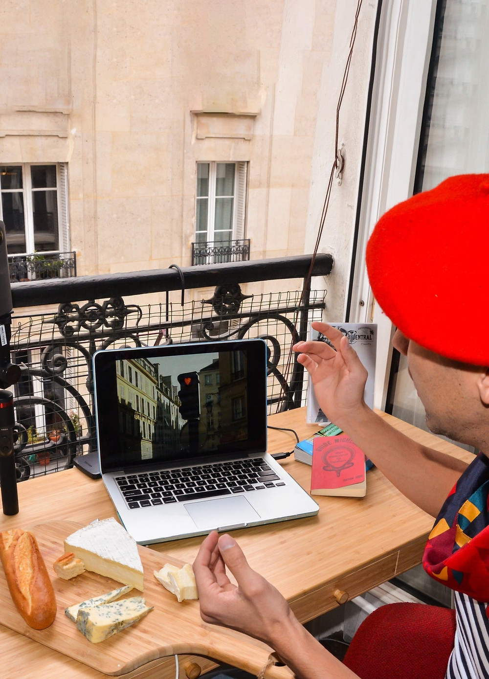 Zoom Around Paris on a Personalized Tour online experience from Airbnb