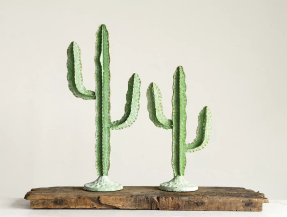 cacti figurines from Target