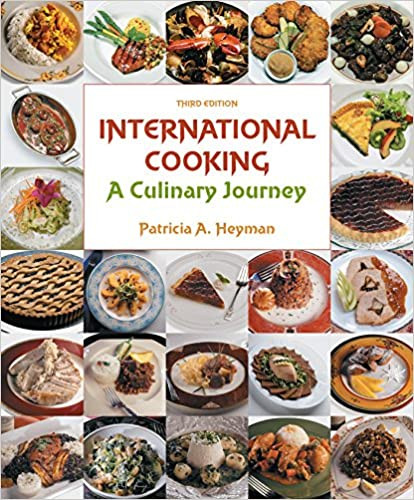 International Cooking: A Culinary Journey book cover from Amazon