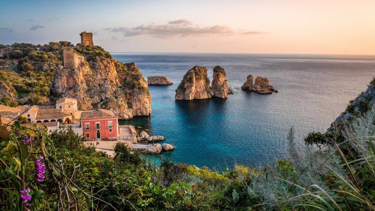 Cliffside of Sicily