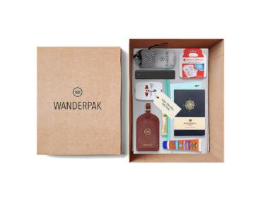 Wanderpak travel subscription box