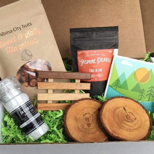 Portland, Oregon box from Explore Local Box