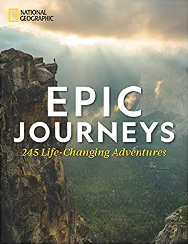 Epic Journeys: 245 Life-Changing Adventures book cover from Amazon