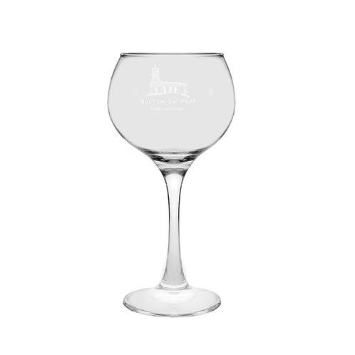 Multum Gin Parvo Glass