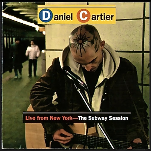Live From NYC, The Subway Session -  handmade disc