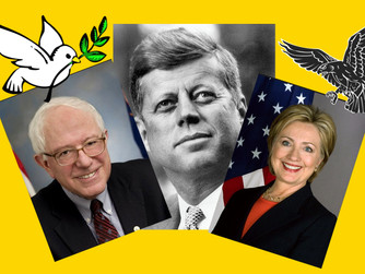 Hillary vs. Bernie (or) The Hawk vs. The Dove