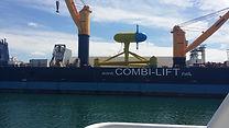 site CGT mer Bretagne Hydrolienne Sabella